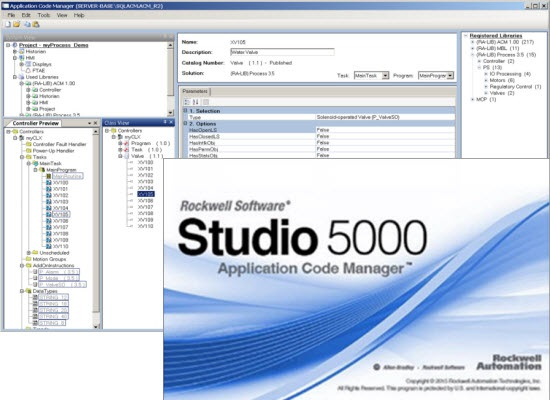 Studio 5000 Application Code Manager